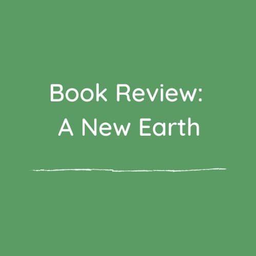 Book Review: A New Earth
