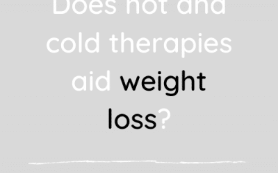 Do hot and cold therapies aid weight loss?